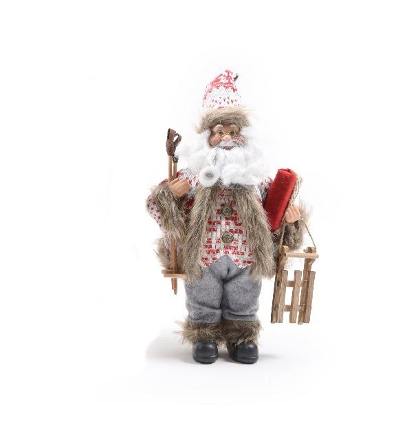 Babbo Natale montanaro h cm 30