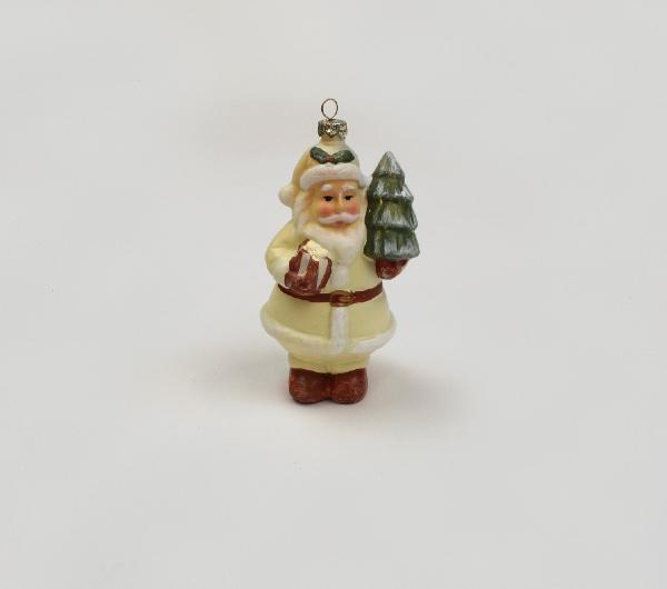 Babbo Natale panna cm 13