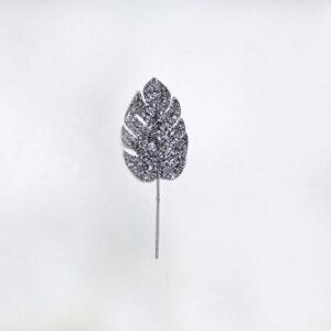 Pick foglia argento