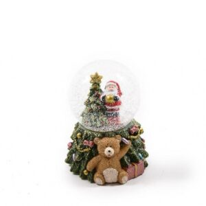 Waterball natalizia con luce