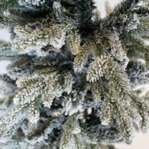 dettaglio albero innevato slim