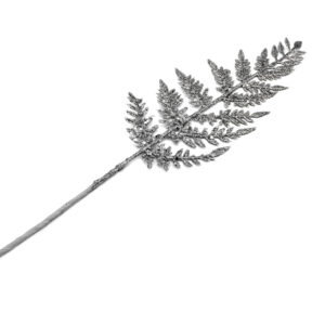 Felce argento cm 40