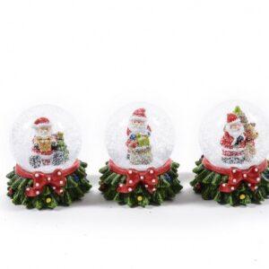 Waterball natalizia, dimensione 8 cm